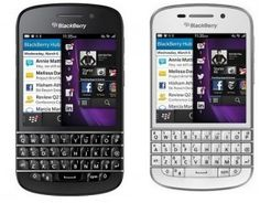 First qwerty blackberry Q10 smartphone release in india with black and white color variants at a price of 44,990 INR. BB Q10 will be available in 20 cities.