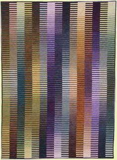 """Light-Emitting Fabric"" art quilt by Kent Williams"