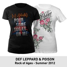 Def Leppard & Poison, Rock of Ages - Summer 2012