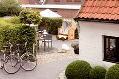 Außenbereich des AKZENT Hotels Hotels, Patio, Outdoor Decor, Home Decor, Double Room, North Sea, Decoration Home, Room Decor, Home Interior Design