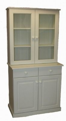 Corona Single Bunk in Satin White Painted Finish - Lowennas Pine Furniture Furniture, Kitchen Furniture, Dream Kitchen, Pine Furniture, Beautiful Dining Rooms, How To Make Paint, Home Decor, Dresser, Dining Room Furniture