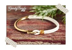 Easy Leather Bracelet DIY : 2mm Leather and Cuff Bracelet tutorial | GoodyBeads.com Blog