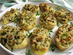 Smaczna Pyza: Ziemniaki faszerowane z chwastami
