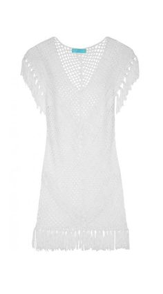 Such a pretty cover-up on the beach or boat - Riri crochet-knit dress
