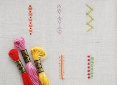 183 Best Embroidery Stitches Borders Edges Images Embroidery