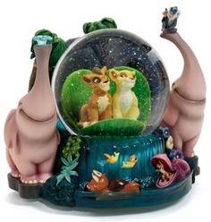 Disney Lion King 2: Simba's Pride Snowglobe