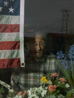 Alec Soth: USA. Nome, Alaska. 2015. 82 year old ivory carver James Omiak.