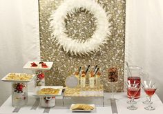 How to Throw Easy and Elegant Christmas Cocktail Party from @Chris Nease