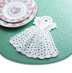 Talking Crochet ... Angel Dishcloth