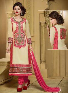 #Urvashi #Rautela #Cream #Georgette #Designer #Wedding #Churidar #Suits #LatestChuridarSuit ##ChuridarSuit #BollywoodSuit #BollywoodSalwarSuit #UrvashiChuridarSuit #CheapestPrice