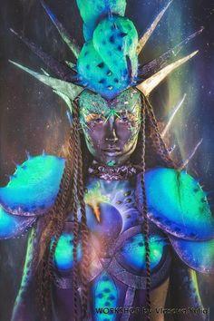 Костюм космического скорпиона   Julia Vlasova Art