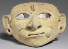 Mask -- Century century CE -- Geography: Colombia or Ecuador -- Culture: Tolita-Tumaco -- Metropolitan Museum of Art Metropolitan Museum, Ceramic Mask, Arte Tribal, Tribal Art, Equador, Masks Art, Clay Masks, Mask Design, Ancient Art