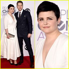 Nominees Ginnifer Goodwin & Josh Dallas Are a Lovely Pair at the People's Choice Awards 2015
