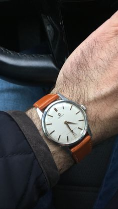 Omega caliber 268. A truly first quality watch.