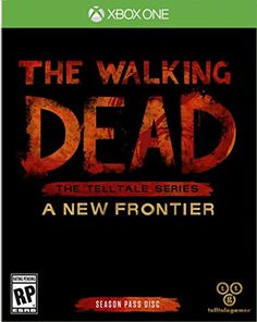 The Walking Dead: The Telltale Series A New Frontier - PlayStation 4 Xbox One Video Games, Xbox 360 Games, Video Game News, Walking Dead Gifts, The Walking Dead, Geek Movies, Xbox One Console, Games To Buy, Xbox One S