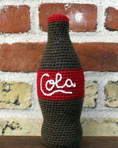Hækl selv: Colaflaske til legekøkkenet - Hendes Verden