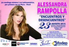 Encuentra tus entradas en el centro comercial OPEN PLAZA de Piura. #AlessandraRampollaenPiura2014 www.ifodep.org