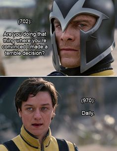 Texts From Xavier Academy. Hahaha