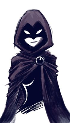Raven from the original Teen Titans