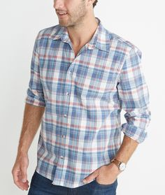 21045109d6e Abbott Plaid Button Down