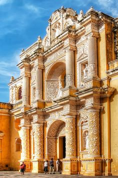 La Merced Church, Antigua Guatemala