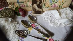 Vintage-Edwardian-Silver-Plated-Fruit-Salad-Serving-Spoon-2-Others-1930s