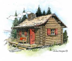 Nothing says spring more than a log cabin! Enjoy the great outdoors with our step by step guides and diy plans.