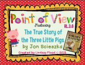 Point of View (Perspective) - The True Story of the 3 Little Pigs! product from Mrs-Floods-Friends on TeachersNotebook.com