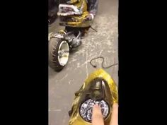 Kymco Scooter Remote Control TransFormer LED Tuning/MiguelitoCustom - YouTube