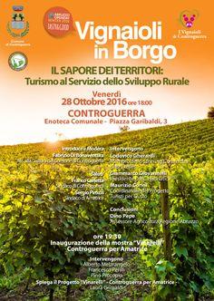 "Controguerra. Arriva ""Vignaioli in Borgo"", workshop, mostre e convegni"