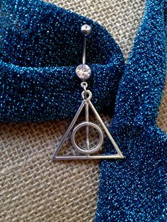 Belly button ring: Harry Potter Deathly Hallows