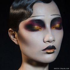 Avant Garde Makeup on Mystic Talia http://mystictalia.com/avant-garde-makeup/nggallery/page/4#sg18