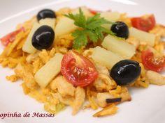Receita Salada quente de frango e ananás de Sopinhademassas - Petitchef