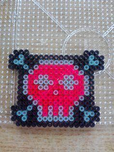 Hama  beads - calavera