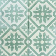 Inspired by the lush, verdant surroundings of our Yorkshire Yard, our selection of green tiles varies from blue to yellow in tones. Perfectly suited for re-vamping a tired outdoor space, or equally beautiful as an indoor addition. Every colour collection is made up of exclusively natural pigments, ensuring the signature Bert & May matte, chalky finish is guaranteed across all of our encaustic tiles. All of our tiles are traditionally handmade in Spain by local artisans and can be viewed f...