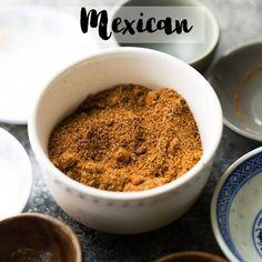 homemade fajita seasoning recipe in a bowl