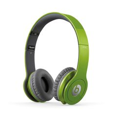 Green Beats by Dre. #headphones