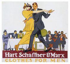 hart-schaffner--marx-clothes-for-men-advertising-poster
