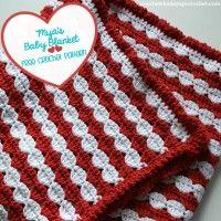 Myas Baby Blanket Free Pattern // 280 Shell Stitch patterns