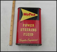 1957 Mopar Power Steering Fluid Can Chrysler Desoto 1956-1960 Plymouth Dodge   | eBay