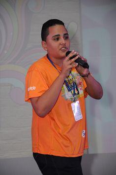 O formador jovem Marcos representou o time Motivação e mandou um super recado para a galera. :)