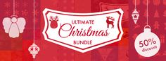 Ultimate Christmas Bundle - Pixelmator Templates Christmas Design, Shapes, Templates, Stencils, Vorlage, Models