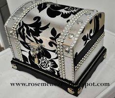 Apostila de pintura Decorativa Rose Menezes: Kit Baú Silver #pinturadecorativa