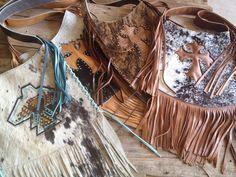Kowgirl Glitz cross body purses. Fringe, Fringe and More Fringe