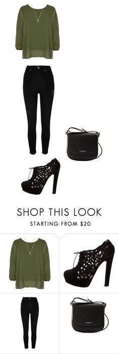 """Girls Night Out3"" by lilythefangirl ❤ liked on Polyvore featuring WearAll, Valentino, River Island and Lancaster"