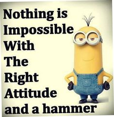 Top 31 Funny Quotes Humor ⋆ Think n Laugh Minions Fans, Minions Love, Minion Jokes, Minions Quotes, Minion Stuff, Purple Minions, Bad Minion, Minion Things, Minions 2014