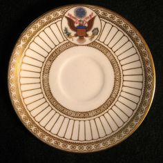 White House China for President Theodore Roosevelt