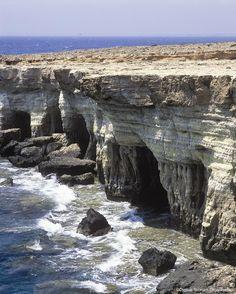 Cyprus Cape Gkreko Sea Caves