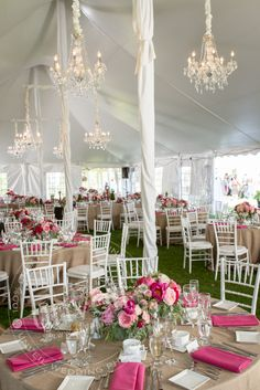 Wedding outdoor tent decoration, lighting outdoor wedding tent, wedding reception venue, table setting