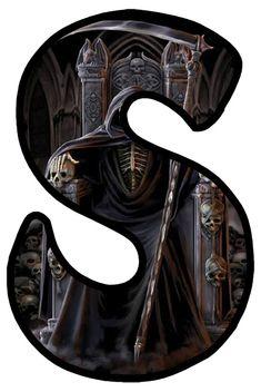 Gothic Art, Gothic Beauty, Gothic Fashion, Alphabet, Moon, Dark, Halloween, Pictures, Style